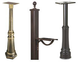 Universal Decorative Mailbox Posts