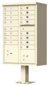 Florence 16 Door CBU Mailbox