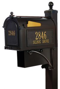 Whitehall Estate Mailbox Package