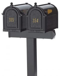 Whitehall Mailboxes Dual Post