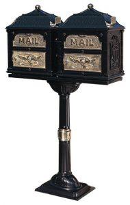 Gaines Dual Classic Pedestal Mailbox