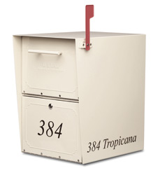 Architectural Mailboxes Oasis Locking Post Mount