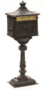 AMCO Victorian Pedestal Locking Mailbox