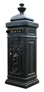 Ecco 8 Victorian Tower Curbside Mailbox