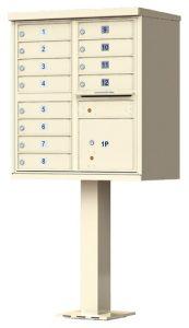 Florence 12 Door CBU Mailbox