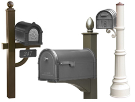 Replacement Curbside Mailbox Posts