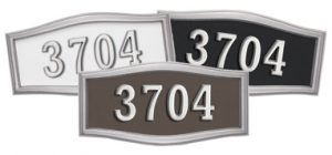 Gaines HouseMark Address Plaques